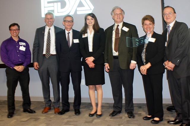 """America's Got Regulatory Science Talent"" Competition Winners Visit FDA (2016)"