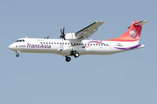 F-WWEZ / B-22825 - ATR 72-600 (72-212A) - TransAsia - msn 1341