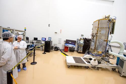 NASA Administrator Views OCO-2 Satellite (201308090011HQ ...
