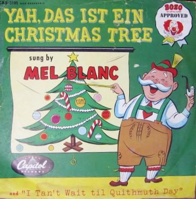 Carol Mel Blanc | by LORAC! Carol - Mel Blanc Mel Blanc On Capitol Records (Bozo Approved) Carol