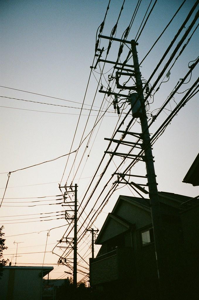 電線 (The electric wires) | kei*** | Flickr