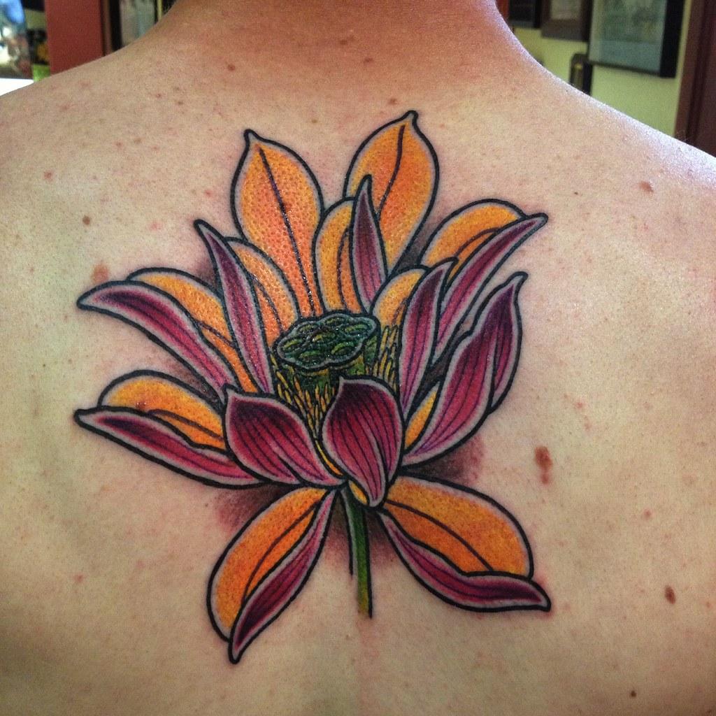 Japanese Lotus Tattoo Kurtdeetjen Kurtdeetjen