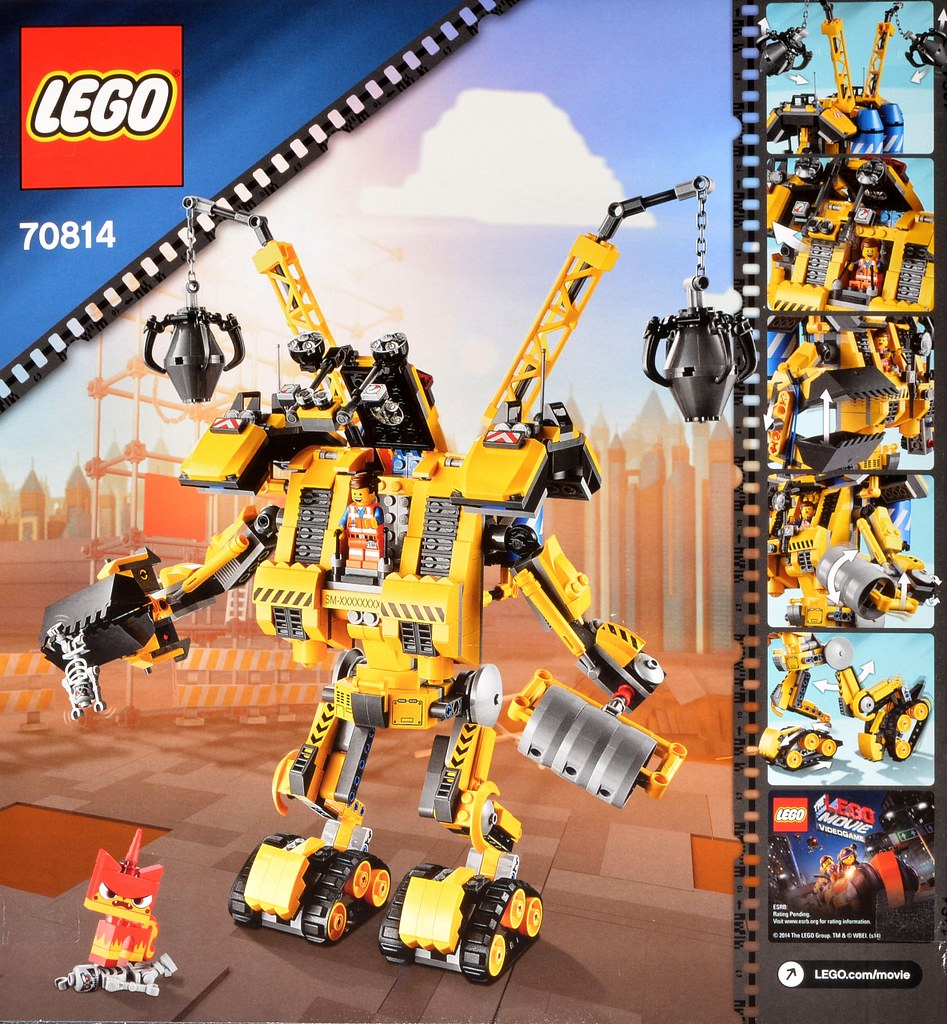 70814 Emmets Construct O Mech For A Set Review Visit Bric Flickr