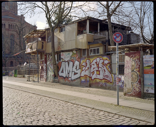 baumhaus an der mauer 2014 kreuzberg berlin plaubel maki flickr. Black Bedroom Furniture Sets. Home Design Ideas