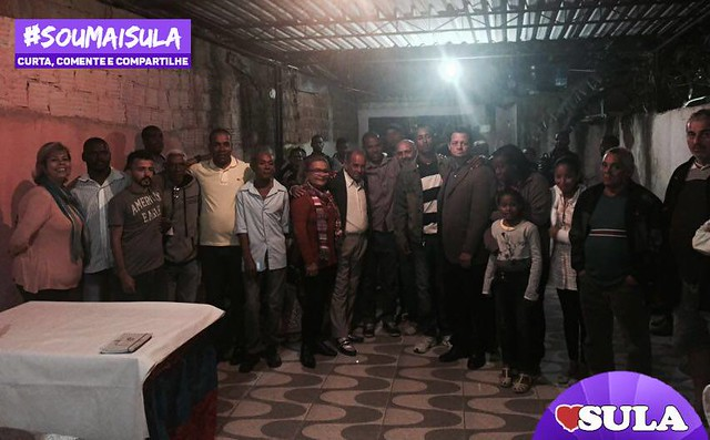 Reunião com lideranças em São Bernardo