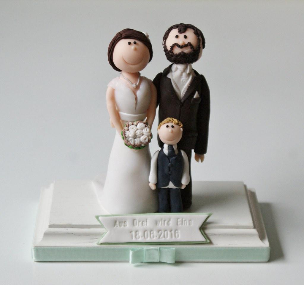 Brautpaartortenfigur Susses Atelier Flickr