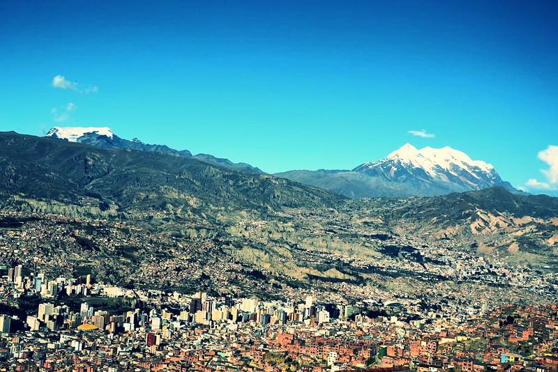 La Paz - Hauptstadt von Bolivien