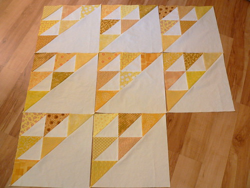 Birds in the Air in Yellow | by Deb@asimplelifequilts