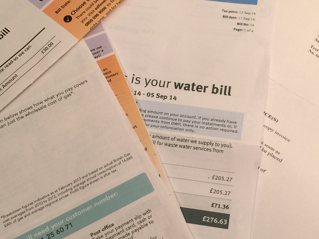 Utility Bills Please Give Attribution To The Skint Dad Bl Flickr