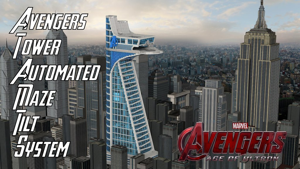 avengers tower automated maze tilt system and there came flickr