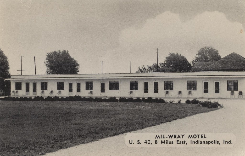 Mil-Wray Motel - Greenfield, Indiana