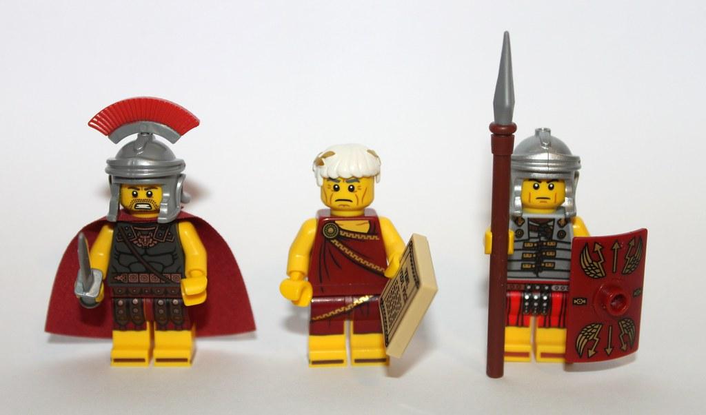 "I came, I built, I conquered."" - Roman Lego | Series 10 Rom… | Flickr"