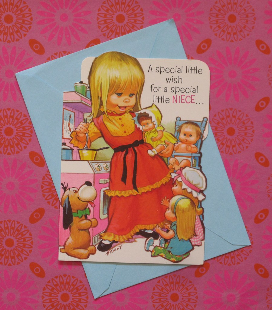 American greetings birthday card for a special niece a flickr american greetings birthday card for a special niece art by pete hawley by m4hsunfo