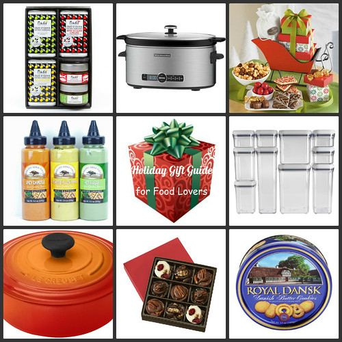 Holiday gift guide for food lovers gif Christmas gift ideas for cooking lovers