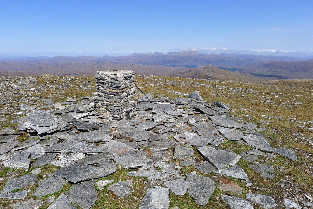 Summit of Creag Rainich