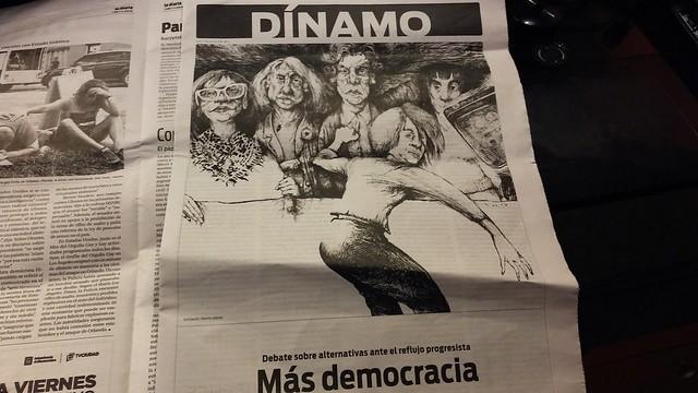 Ilustraciones para el Nº 2 de Dínamo, suplemento de @ladiaria