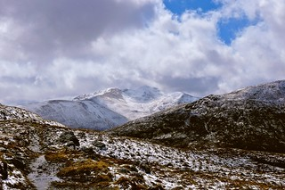 Beinn Fhada from the descent to Glen Affric | by Nick Bramhall