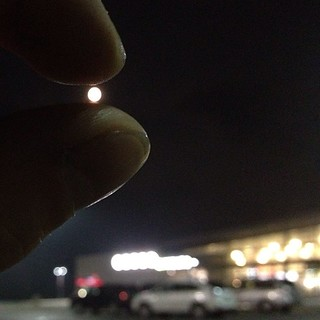 Holding the super moon between my fingers , Odessa Ontario | by Charles de Mille-Isles