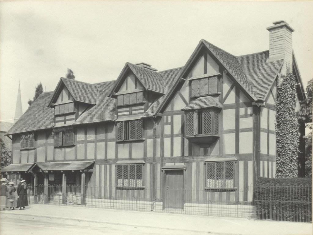 Shakespeares Birthplace Stratford Upon Avon AD 1564