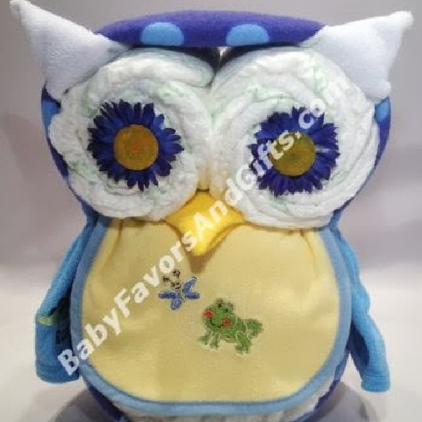 Owl Diaper Cake For Boy Unique Baby Shower Gift Ideas Fro Flickr