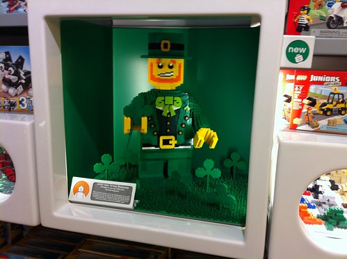 Fairview LEGO Store March 2014 window | by Steadibrick