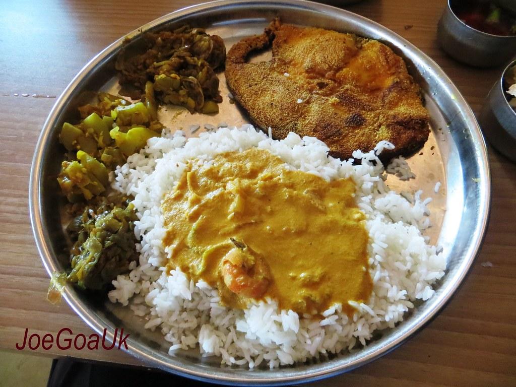 Fish Curry Rice Kamalabai Restaurant Kasarwado Khorlim Ma Flickr