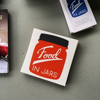 Did I mention that the Food in Jars stickers are in? They are free with every book purchase! | by Marisa | Food in Jars