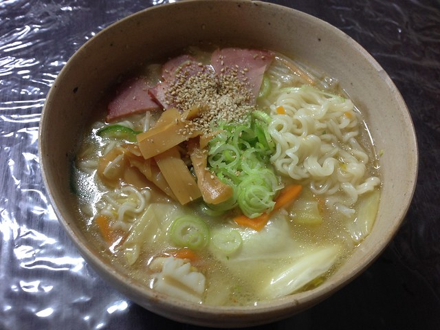 "Instant Chinese noodles saltiness ""SAPPORO ICHIBAN"""