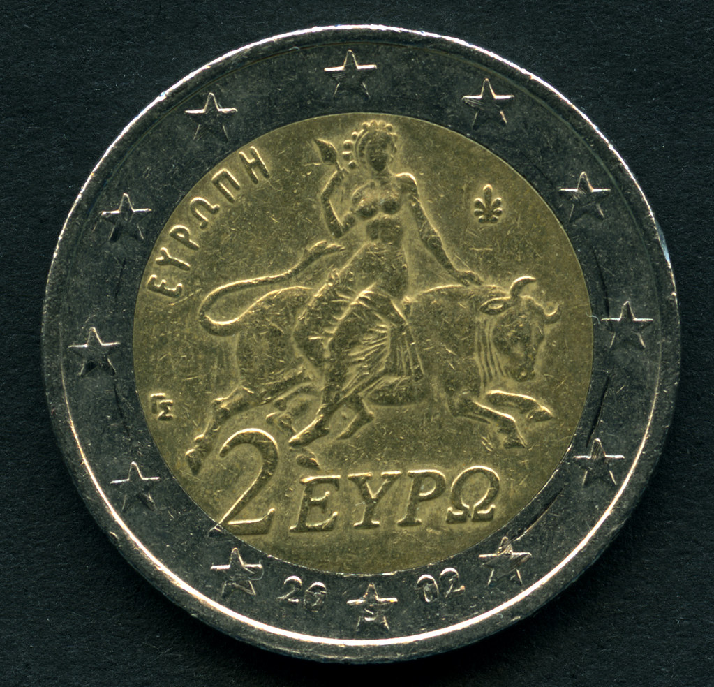 Archiv G093 2 Euro Münze Griechenland 2002 Europa Gr Flickr
