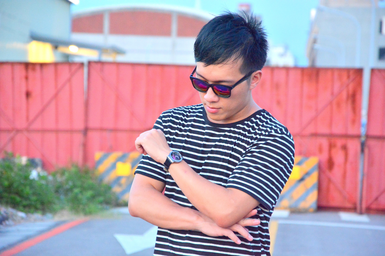 柒彩年代-墨鏡手錶