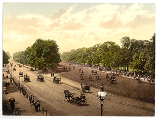 [Rotten Row and Hyde Park Corner, London, England]  (LOC) | by The Library of Congress