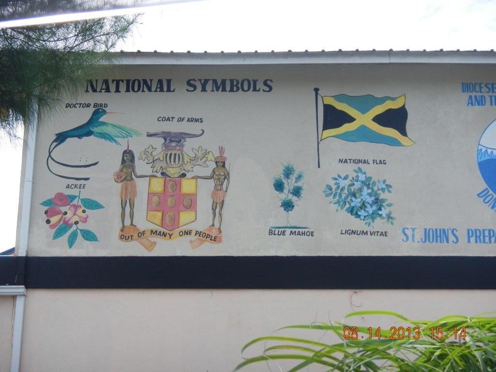 Ricardo Riley Of Liberty Tours Jamaica Explaining The Symb Flickr