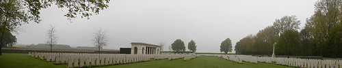 Vimy Ridge Graves Row upon Row