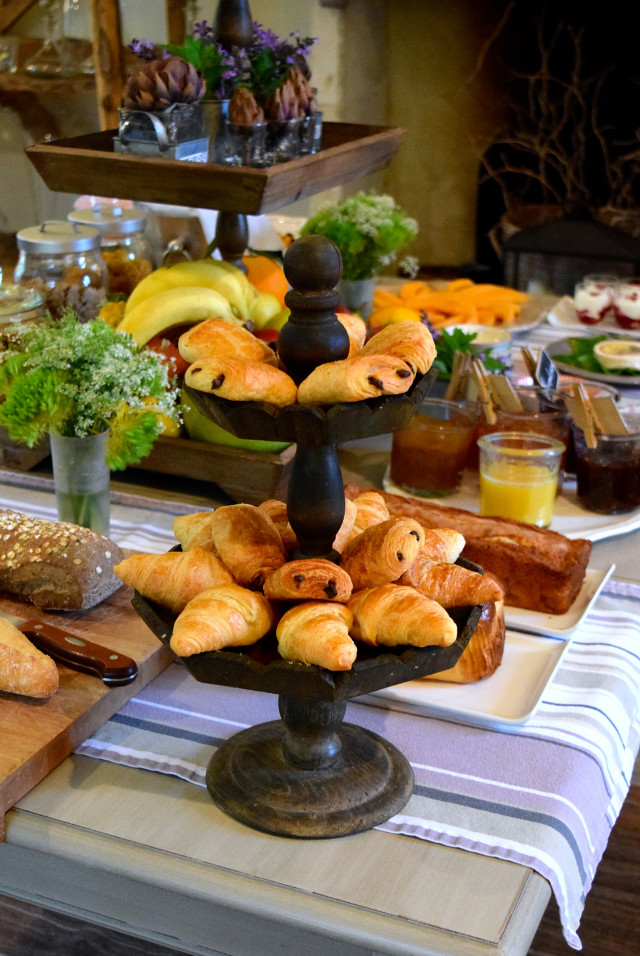 Breakfast Pastries at Manoir de Malagorse | www.rachelphipps.com @rachelphipps