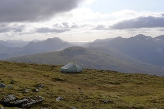 Wild camping on A' Chailleach | by Nick Bramhall