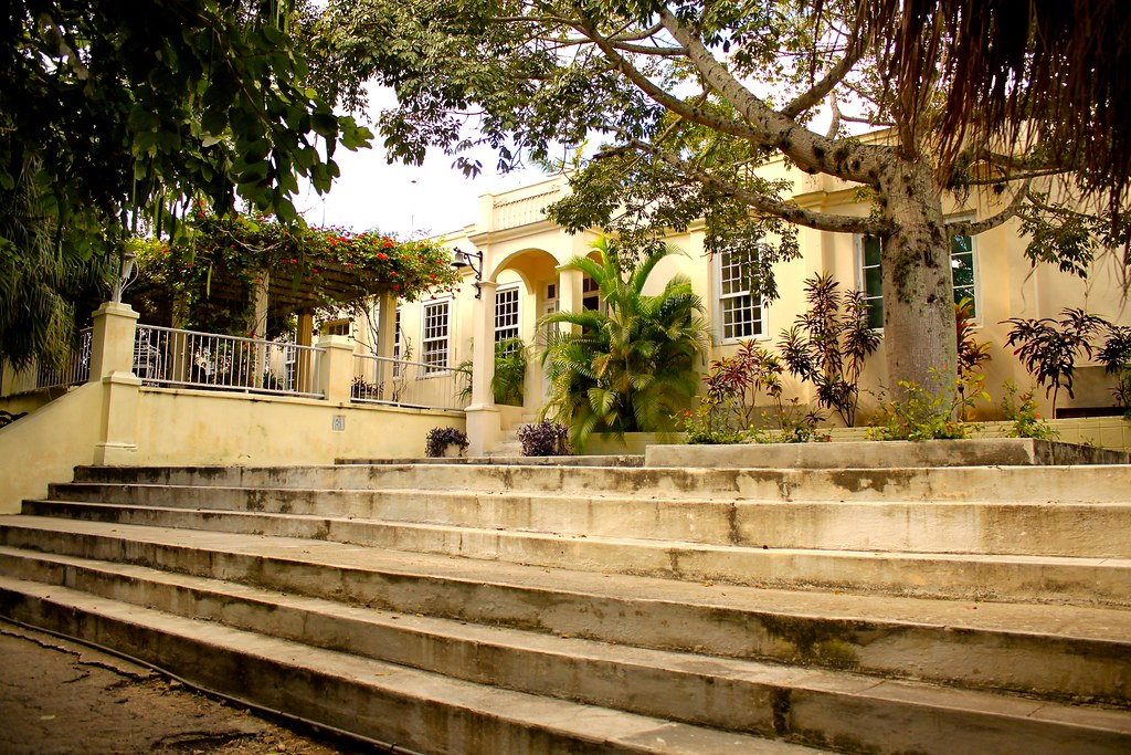 La Finca Vigia- Hemingway's Estate on the outskirts of Havana.