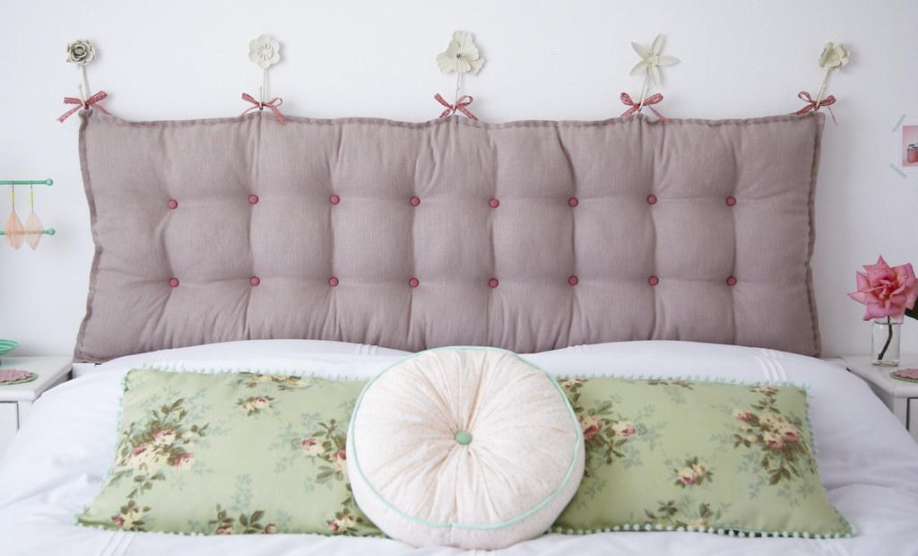 cabecera para la cama