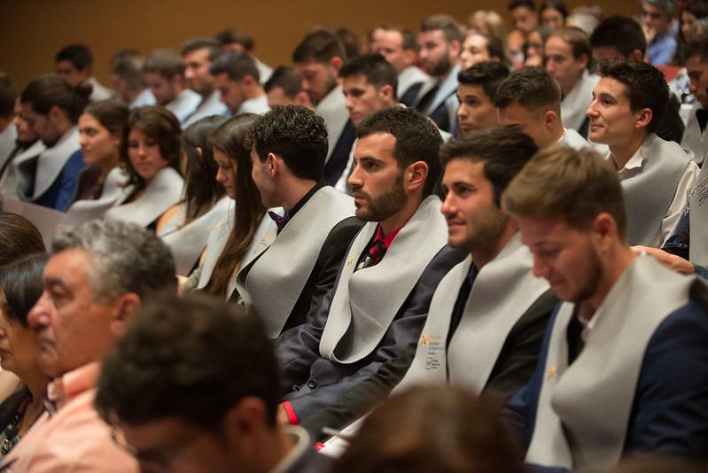 Acte de graduació del Grau en Ciències de l'Activitat Física i de l'Esport