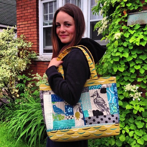 Tote bag completed! | by Stitchliterate