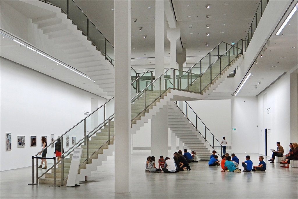 Lintérieur De La Berlinische Galerie Berlin Le Grand Ha Flickr