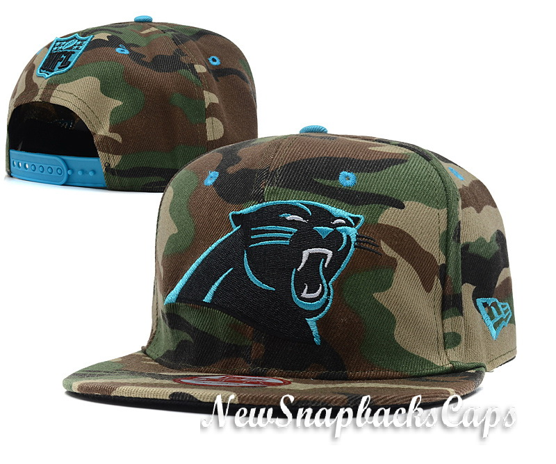 ... supremeworldfamous Carolina Panthers Camo Hat Caps Snapback New Era  Mens Adjustable NFL  c5d8fec56
