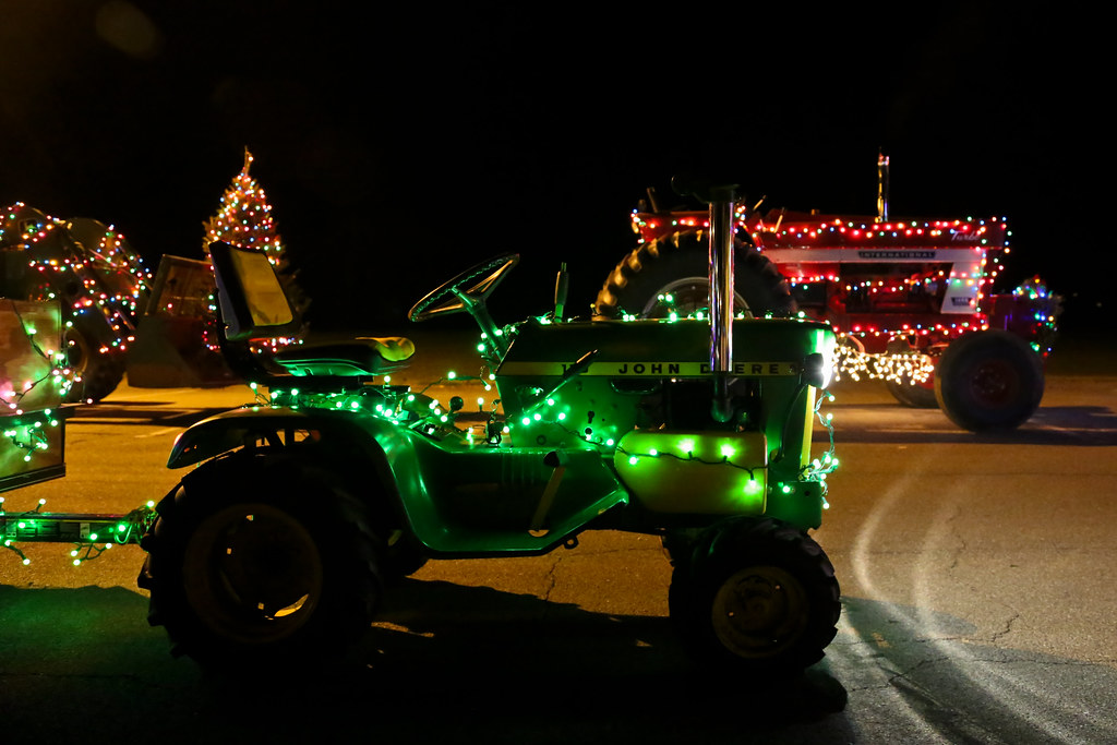 Greenwich Holiday Lighted Tractor Parade | John Deere & In… | Flickr