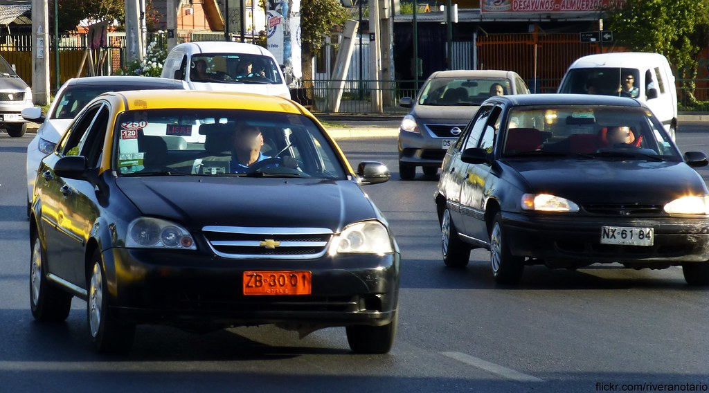 Chevrolet Optra Taxi, Daewoo Racer - Santiago, Chile   Flickr