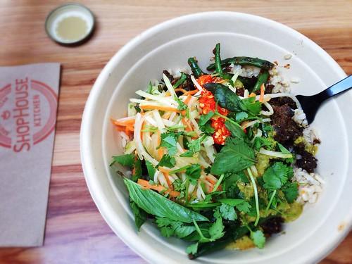 Shophouse Southeast Asian Kitchen Menu Nutrition