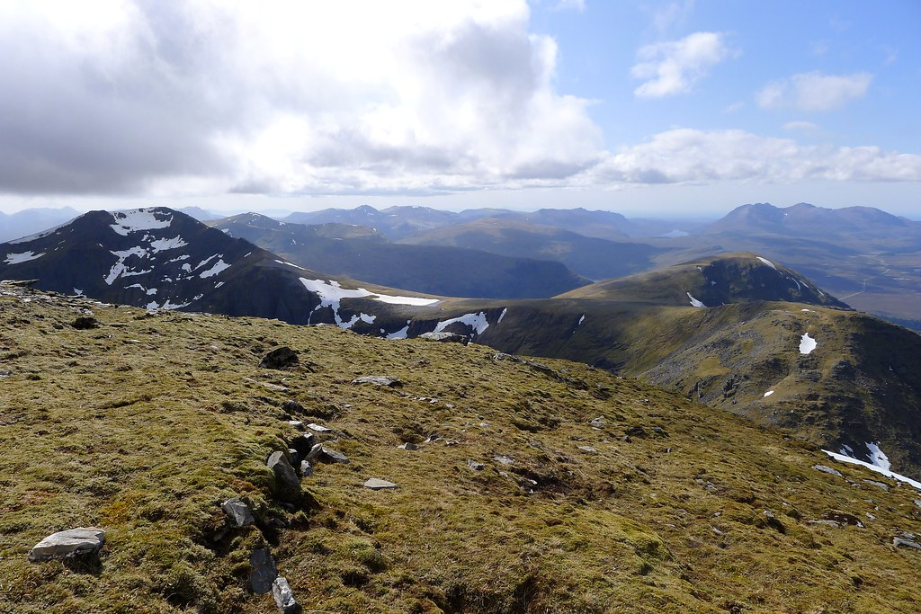 Fisherfield from Sgurr Mor