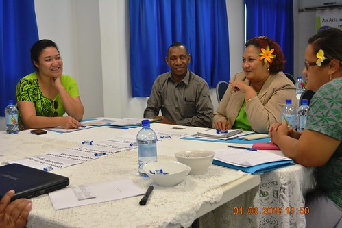 PPCR Monitoring & Evaluation workshop Tonga (50) | by CIFaction