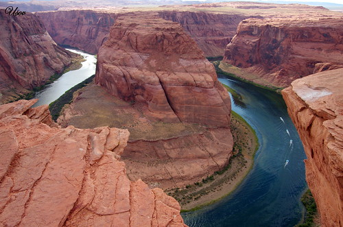 Horseshoe bend, the Colorado river