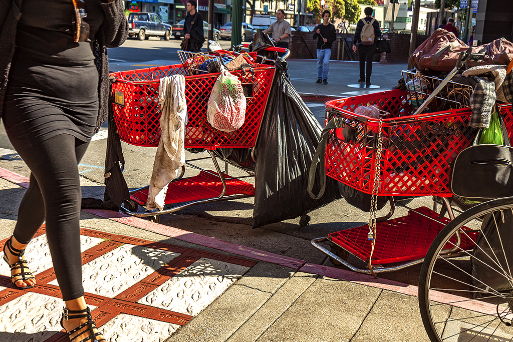 Parked-shopping-carts-in-3-13--Berkeley