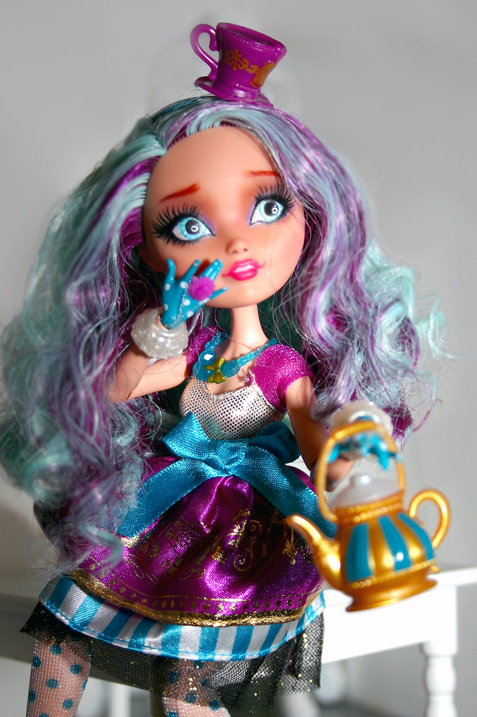 madeline hatter ever after high repaint evb sn datumzineb flickr