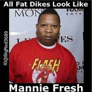 """fat black dykes Aug 2010  """"Most of them are homely looking, and usually overweight,"""" my mother explained."""